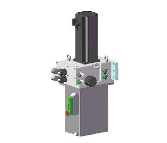 智能液压伺服双向泵控传动装置
